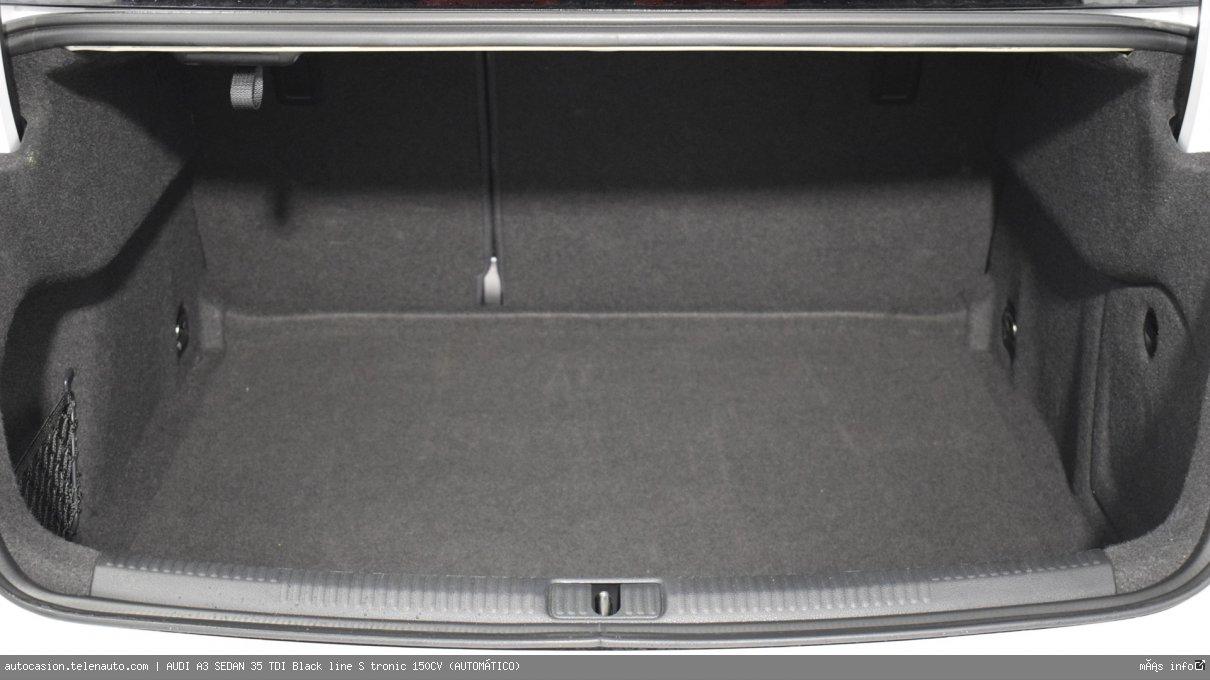 Audi A3 sedan 35 TDI Black line S tronic 150CV (AUTOMÁTICO) Diesel seminuevo de segunda mano 13