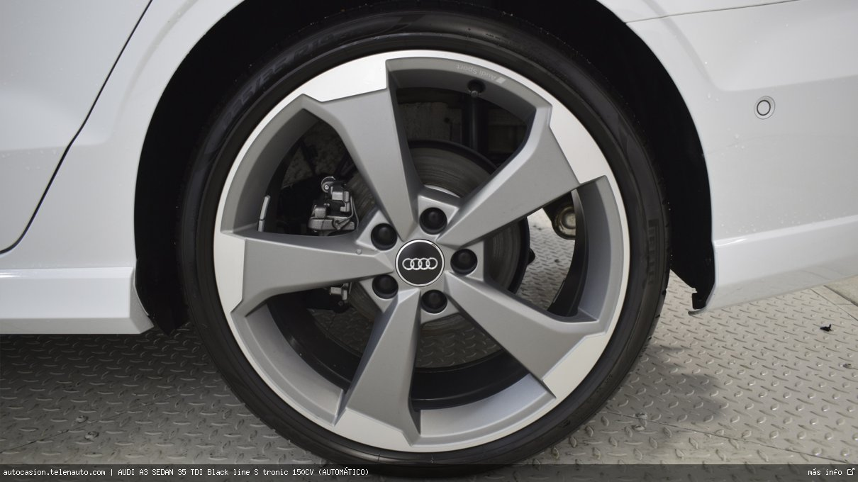 Audi A3 sedan 35 TDI Black line S tronic 150CV (AUTOMÁTICO) Diesel seminuevo de segunda mano 14