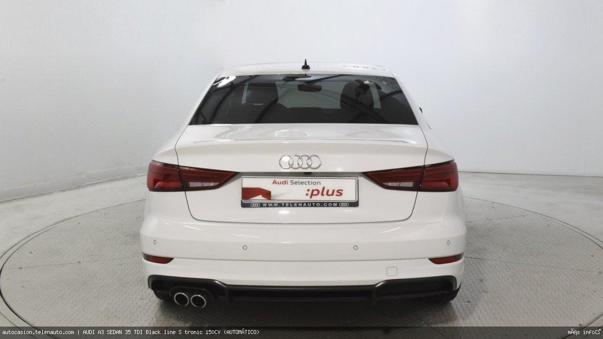 Audi A3 sedan 35 TDI Black line S tronic 150CV (AUTOMÁTICO) Diesel seminuevo de segunda mano 6