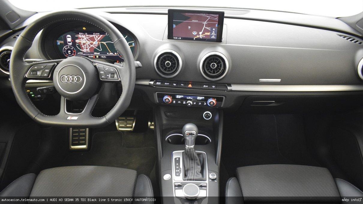 Audi A3 sedan 35 TDI Black line S tronic 150CV (AUTOMÁTICO) Diesel seminuevo de segunda mano 9