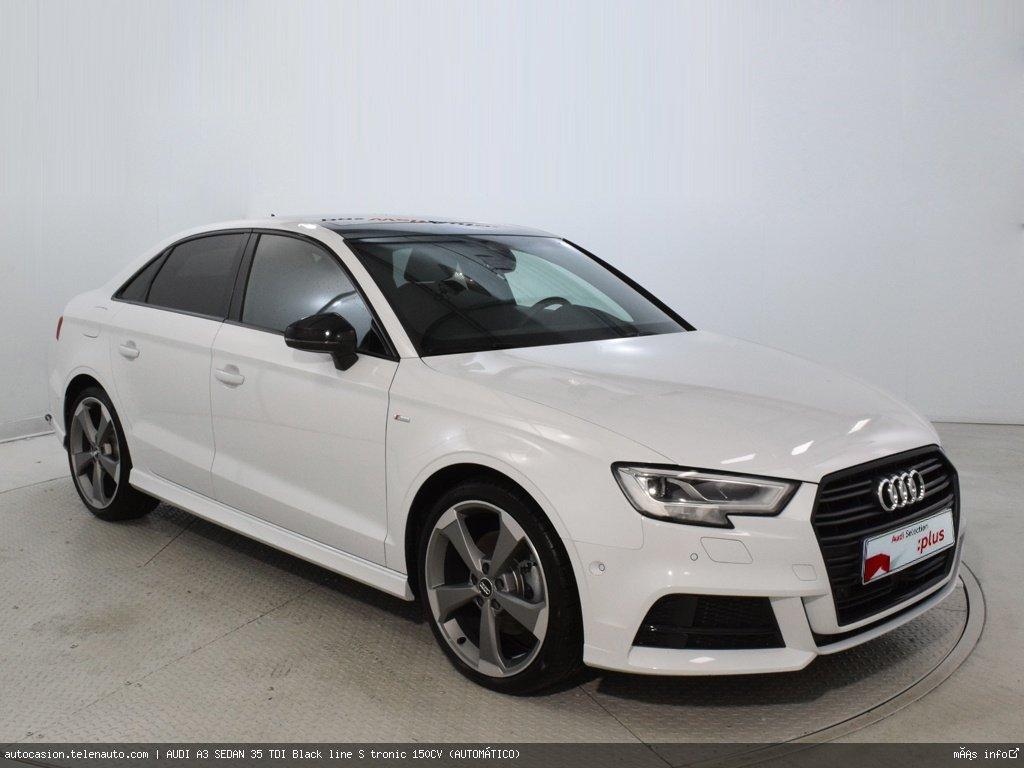Audi A3 sedan 35 TDI Black line S tronic 150CV (AUTOMÁTICO) Diesel seminuevo de segunda mano 1