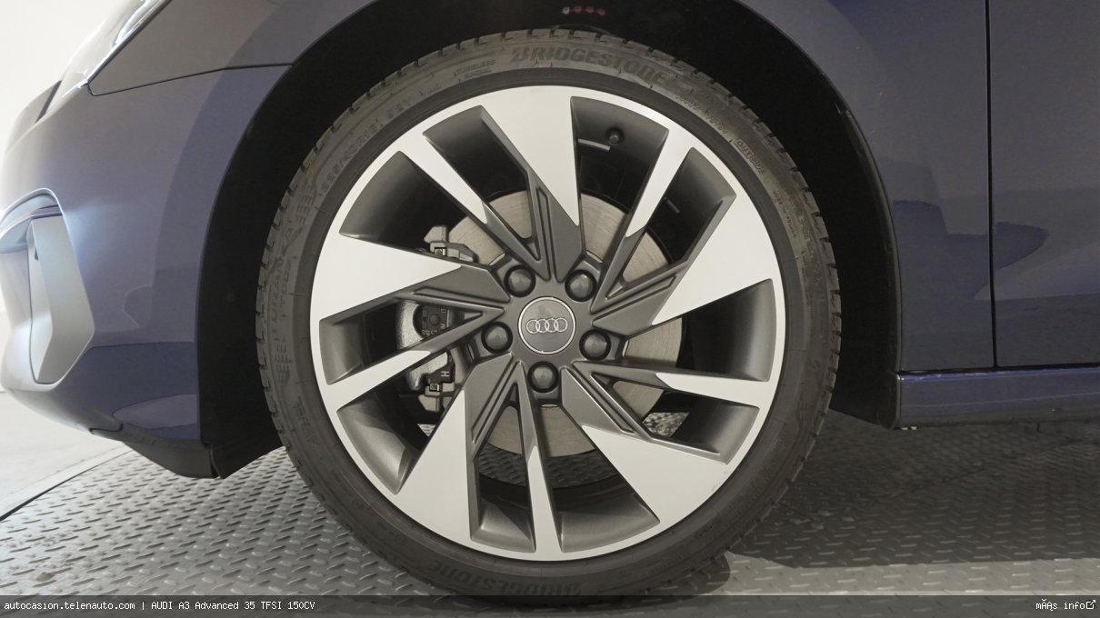 Audi A3 Advanced 35 TFSI 150CV Gasolina kilometro 0 de segunda mano