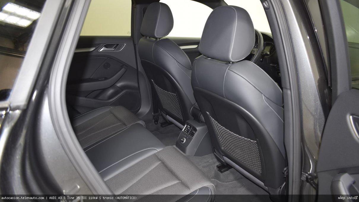 Audi A3 S line 35 TDI 110kW S tronic (AUTOMÁTICO) Diesel kilometro 0 de ocasión 12