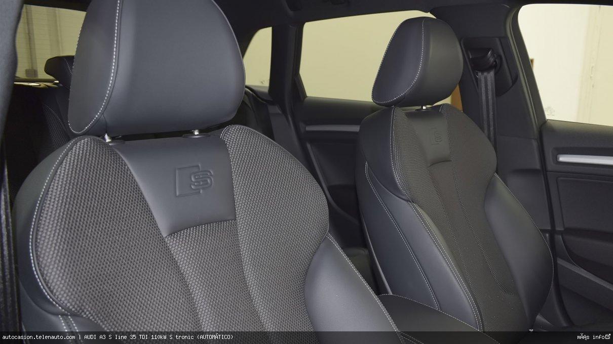 Audi A3 S line 35 TDI 110kW S tronic (AUTOMÁTICO) Diesel kilometro 0 de ocasión 13