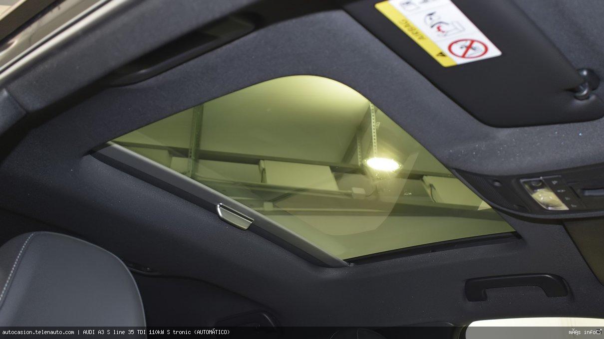Audi A3 S line 35 TDI 110kW S tronic (AUTOMÁTICO) Diesel kilometro 0 de ocasión 15