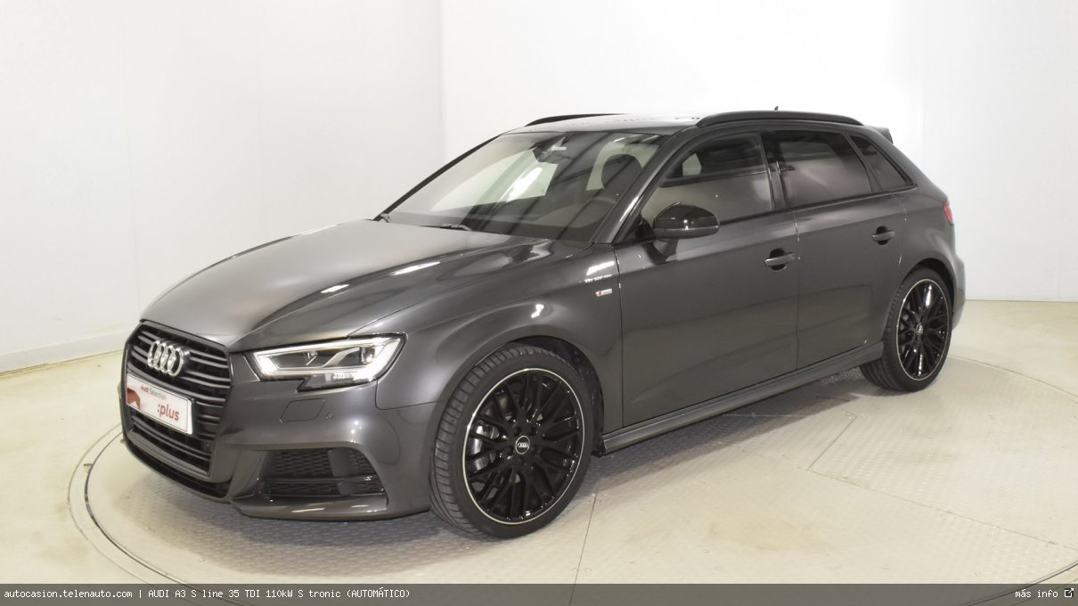 Audi A3 S line 35 TDI 110kW S tronic (AUTOMÁTICO) Diesel kilometro 0 de ocasión 3