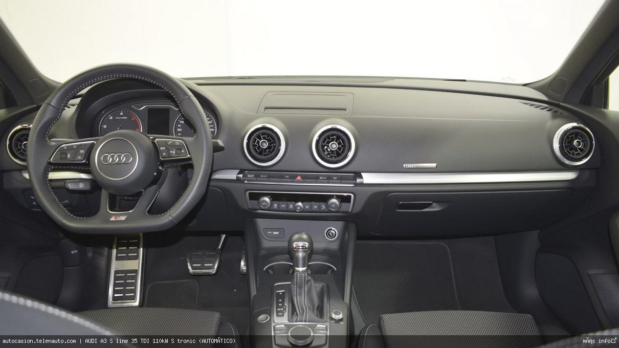 Audi A3 S line 35 TDI 110kW S tronic (AUTOMÁTICO) Diesel kilometro 0 de ocasión 7