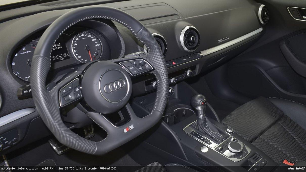 Audi A3 S line 35 TDI 110kW S tronic (AUTOMÁTICO) Diesel kilometro 0 de ocasión 9