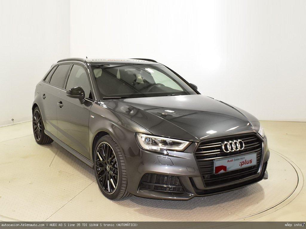 Audi A3 S line 35 TDI 110kW S tronic (AUTOMÁTICO) Diesel kilometro 0 de ocasión 1