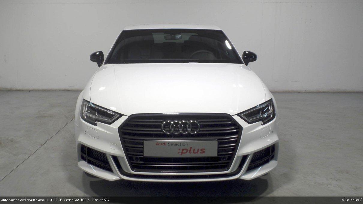 Audi A3 Sedan 30 TDI S line 116CV Diesel kilometro 0 de segunda mano 2