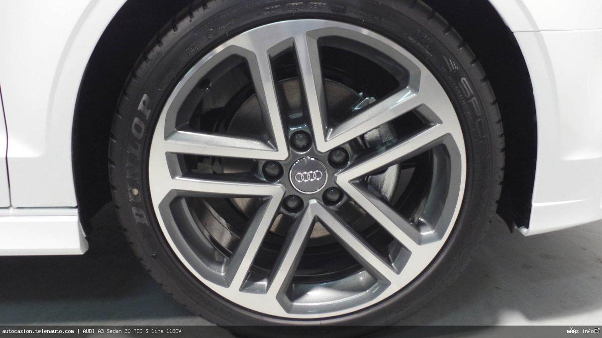 Audi A3 Sedan 30 TDI S line 116CV Diesel kilometro 0 de segunda mano 11