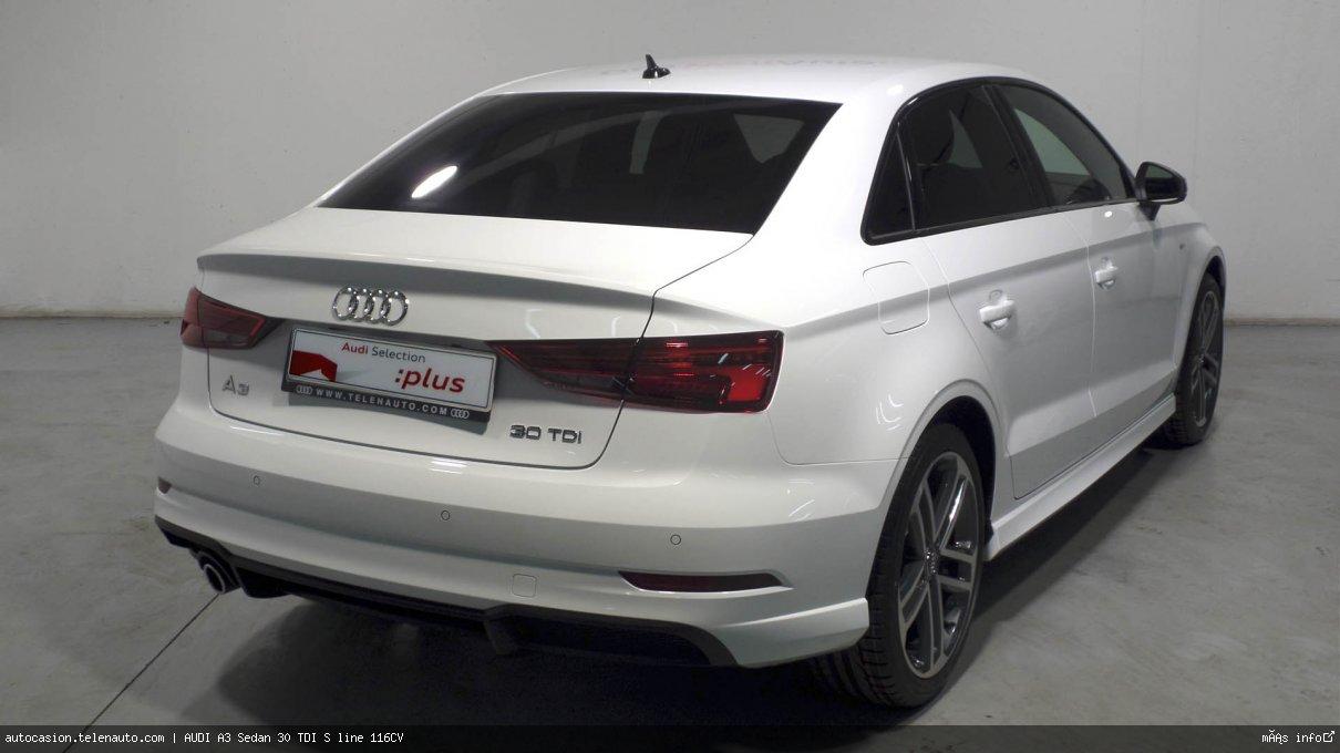 Audi A3 Sedan 30 TDI S line 116CV Diesel kilometro 0 de segunda mano 4