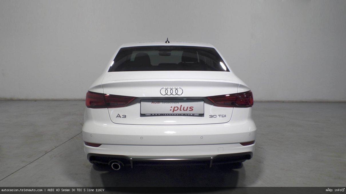 Audi A3 Sedan 30 TDI S line 116CV Diesel kilometro 0 de segunda mano 5