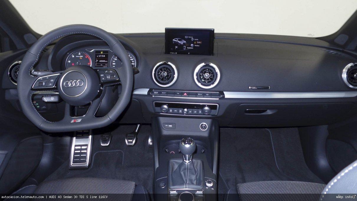 Audi A3 Sedan 30 TDI S line 116CV Diesel kilometro 0 de segunda mano 7