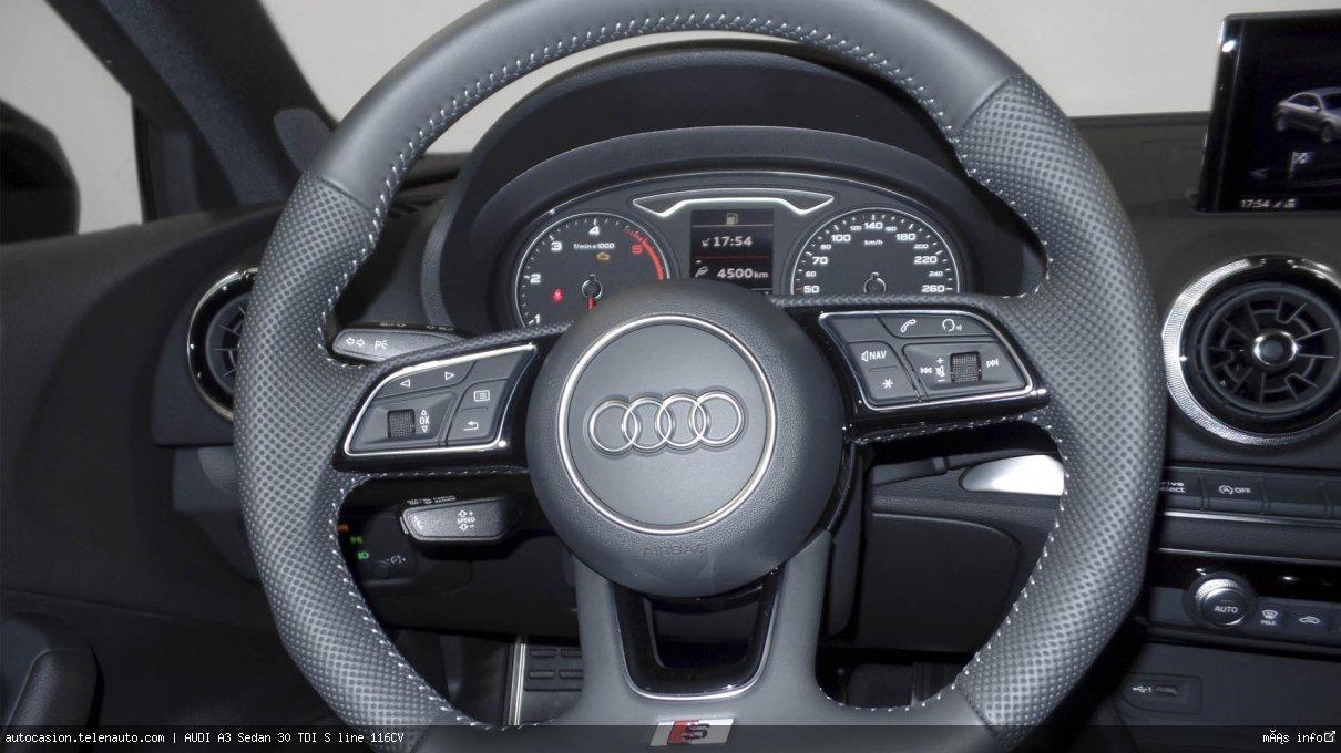 Audi A3 Sedan 30 TDI S line 116CV Diesel kilometro 0 de segunda mano 8
