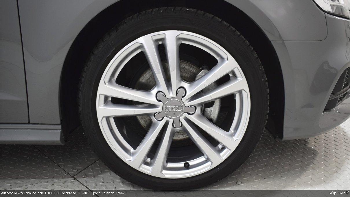 Audi A3 Sportback 2.0TDI Sport Edition 150CV Diesel seminuevo de segunda mano 13