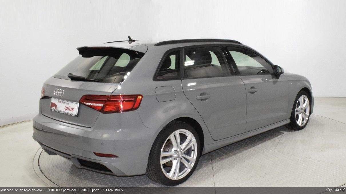 Audi A3 Sportback 2.0TDI Sport Edition 150CV Diesel seminuevo de segunda mano 4