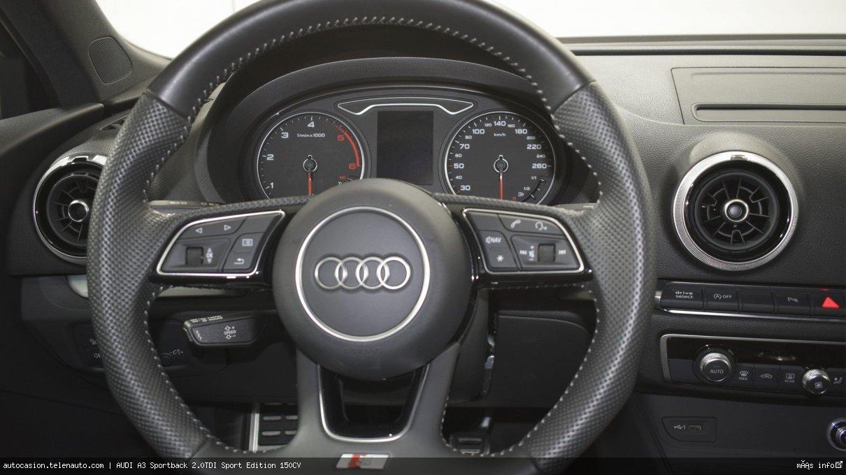 Audi A3 Sportback 2.0TDI Sport Edition 150CV Diesel seminuevo de segunda mano 8