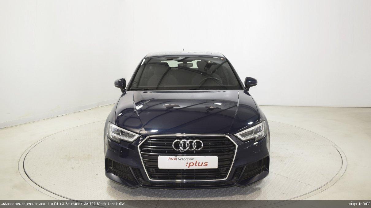 Audi A3 Sportback 30 TDI Black Line116CV Diesel de segunda mano 2