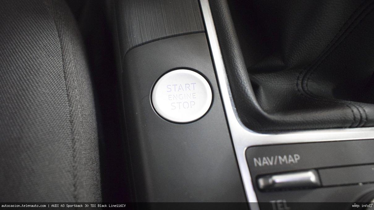 Audi A3 Sportback 30 TDI Black Line116CV Diesel de segunda mano 10
