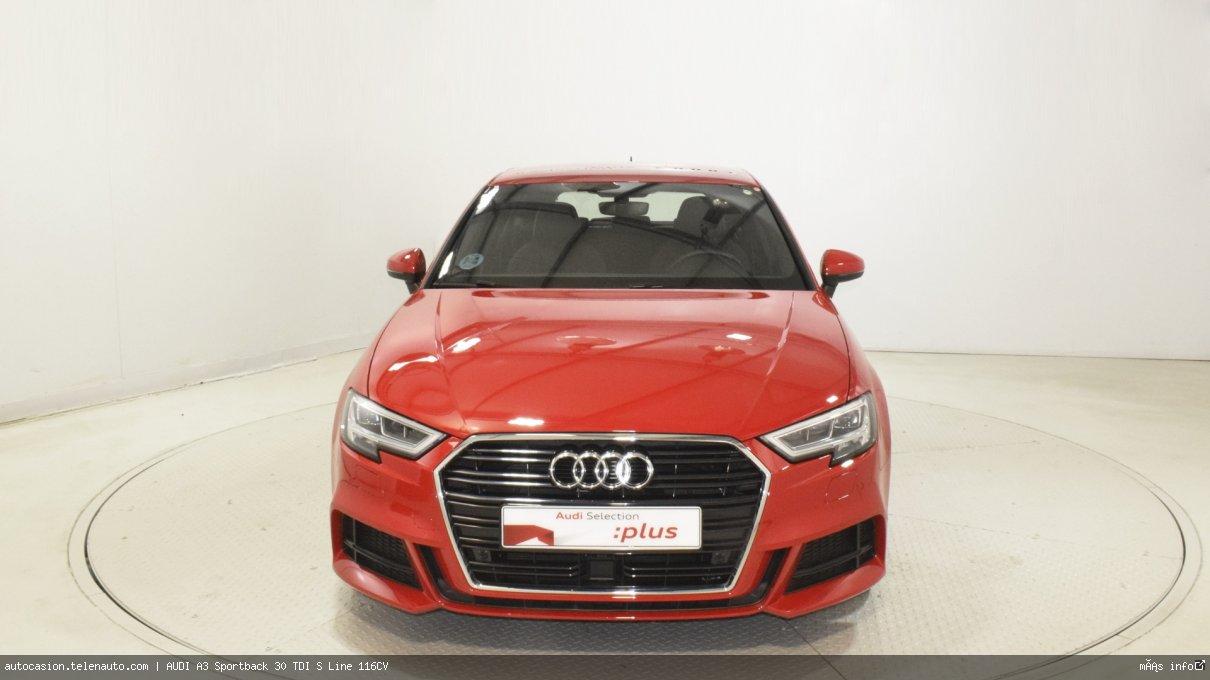 Audi A3 Sportback 30 TDI S Line 116CV Diesel kilometro 0 de segunda mano 2