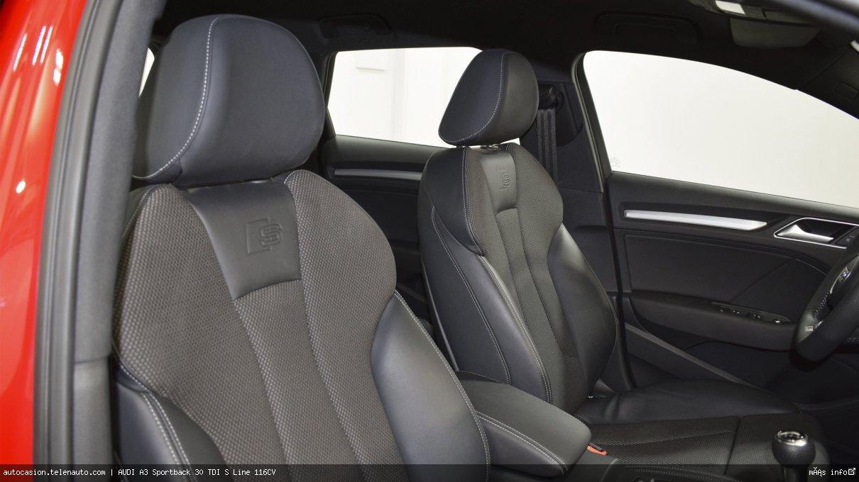 Audi A3 Sportback 30 TDI S Line 116CV Diesel kilometro 0 de segunda mano 13