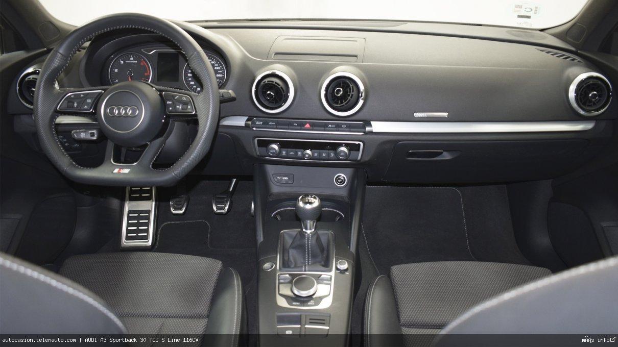 Audi A3 Sportback 30 TDI S Line 116CV Diesel kilometro 0 de segunda mano 9