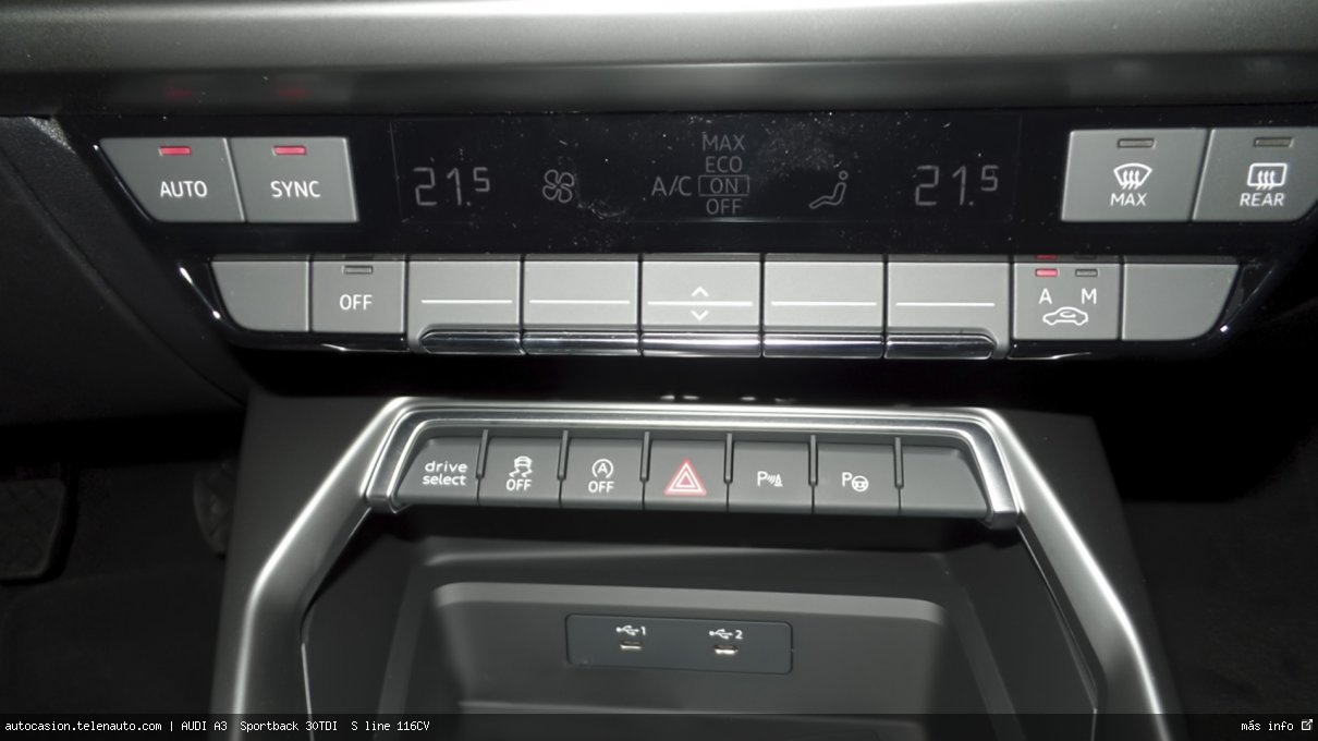 Audi A3  Sportback S line 35 TDI S tronic  150CV (AUTOMÁTICO) Diesel kilometro 0 de segunda mano 12