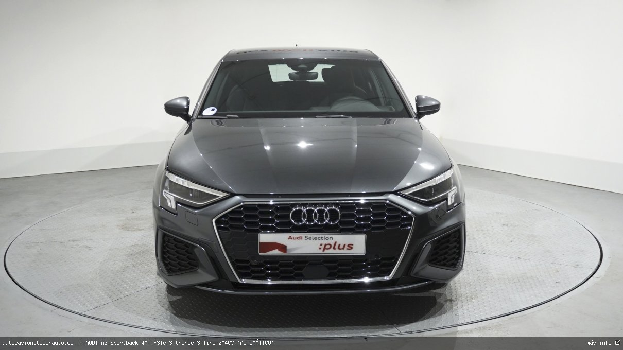 Audi A3 Sportback 40 TFSIe S tronic S line 204CV (AUTOMÁTICO) Hibrido kilometro 0 de ocasión 2
