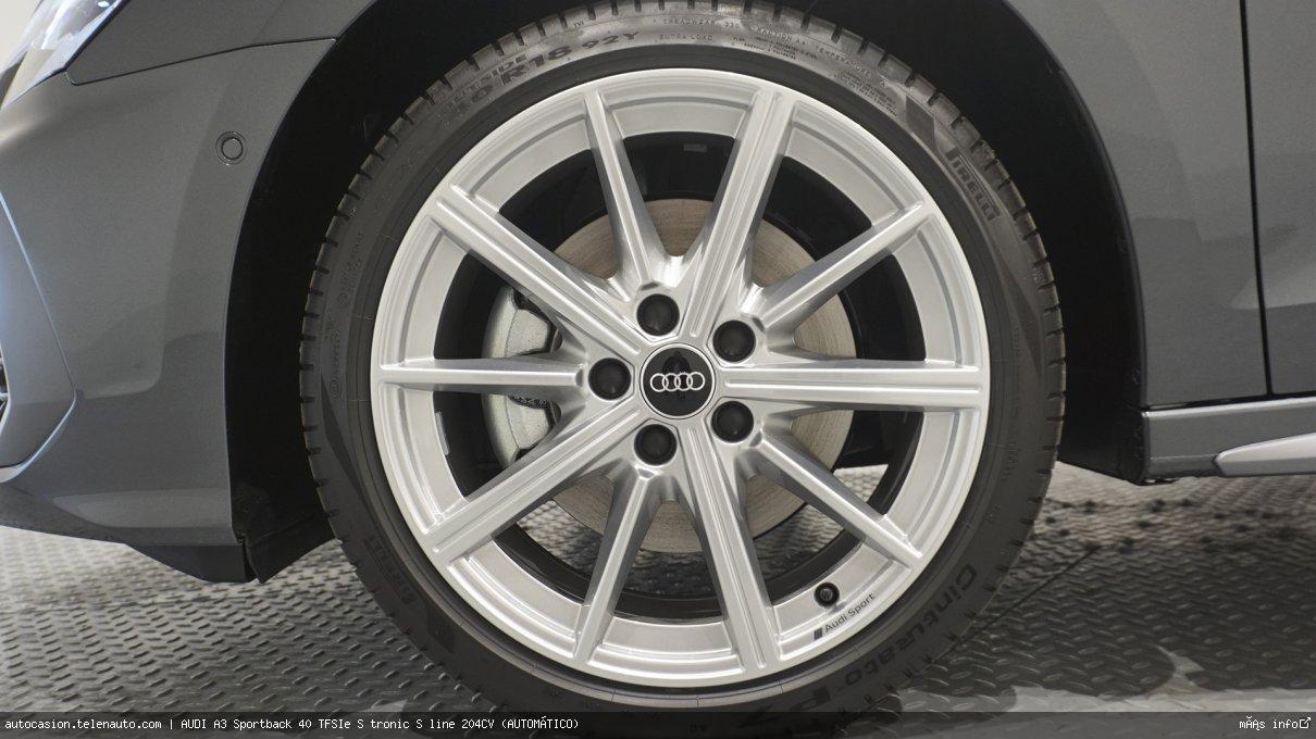 Audi A3 Sportback 40 TFSIe S tronic S line 204CV (AUTOMÁTICO) Hibrido kilometro 0 de ocasión 12