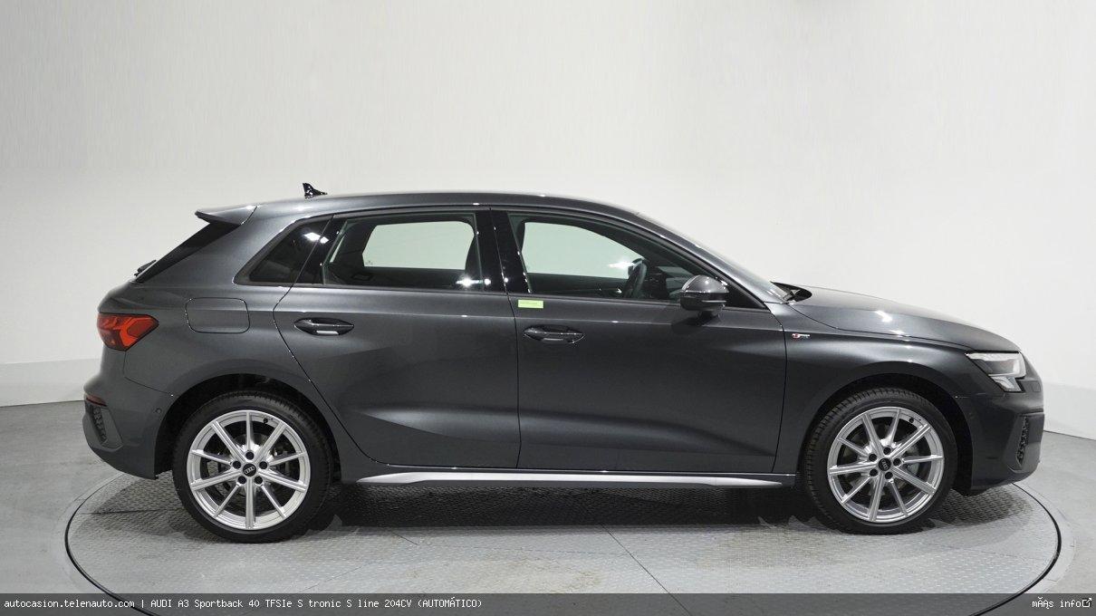 Audi A3 Sportback 40 TFSIe S tronic S line 204CV (AUTOMÁTICO) Hibrido kilometro 0 de ocasión 4