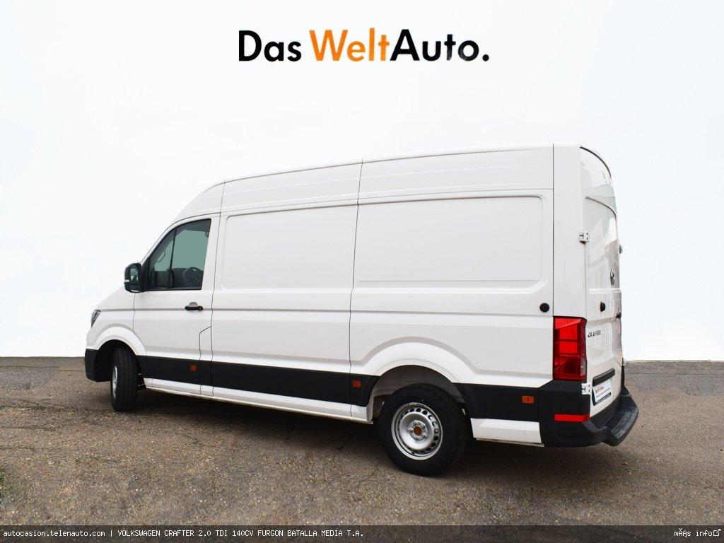 Volkswagen Crafter 2.0 TDI 140CV FURGON BATALLA MEDIA T.A.  Diesel kilometro 0 de segunda mano 3