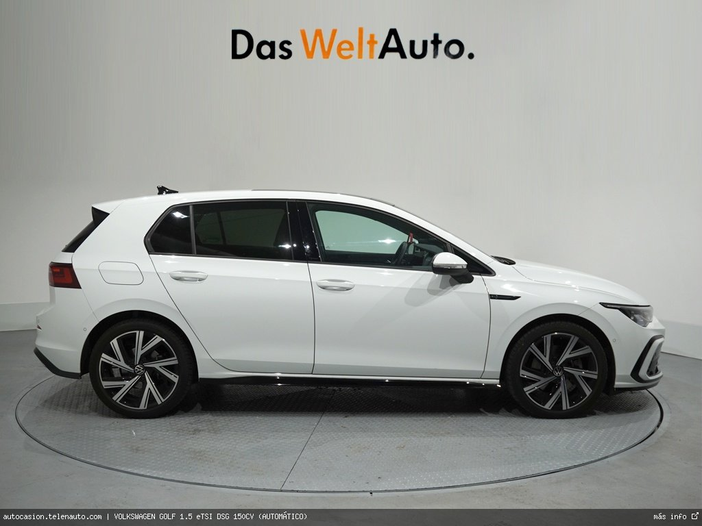 Volkswagen Golf 1.5 eTSI DSG 150CV (AUTOMÁTICO) Hibrido kilometro 0 de segunda mano 2
