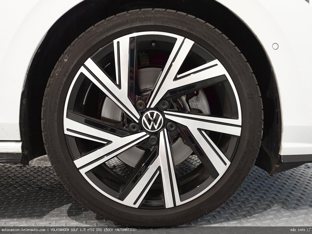 Volkswagen Golf 1.5 eTSI DSG 150CV (AUTOMÁTICO) Hibrido kilometro 0 de segunda mano 15