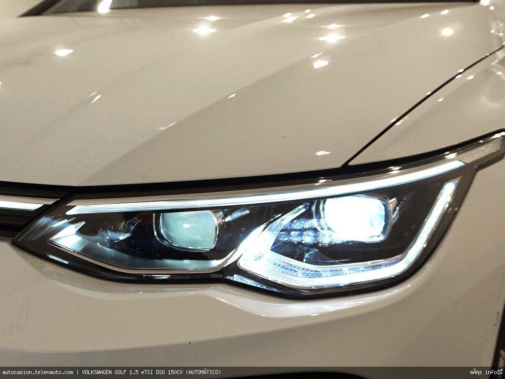 Volkswagen Golf 1.5 eTSI DSG 150CV (AUTOMÁTICO) Hibrido kilometro 0 de segunda mano 7