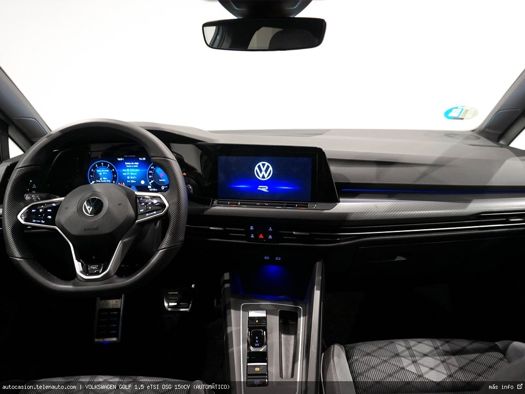 Volkswagen Golf 1.5 eTSI DSG 150CV (AUTOMÁTICO) Hibrido kilometro 0 de segunda mano 9