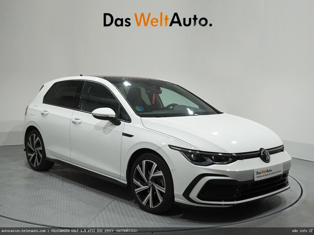 Volkswagen Golf 1.5 eTSI DSG 150CV (AUTOMÁTICO) Hibrido kilometro 0 de segunda mano 1