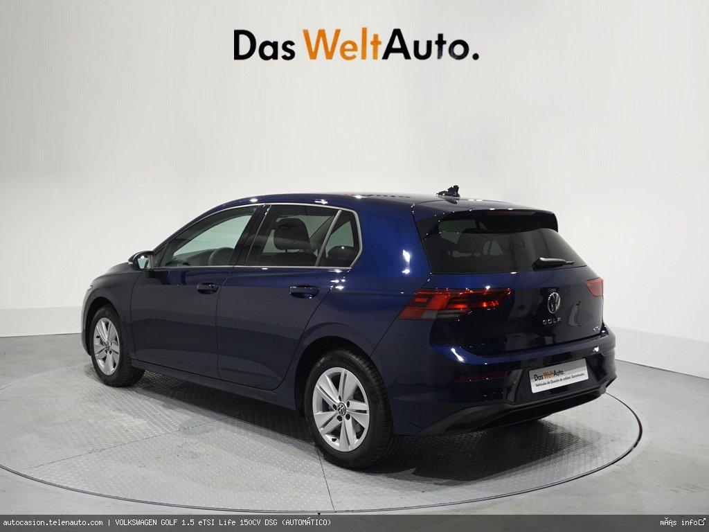 Volkswagen Golf 1.5 eTSI Life 150CV DSG (AUTOMÁTICO) Gasolina kilometro 0 de segunda mano 2