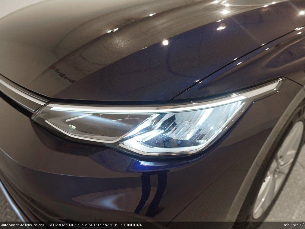 Volkswagen Golf 1.5 eTSI Life 150CV DSG (AUTOMÁTICO) Gasolina kilometro 0 de segunda mano 4