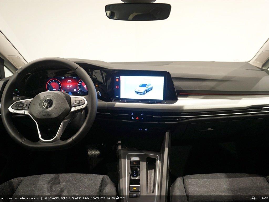 Volkswagen Golf 1.5 eTSI Life 150CV DSG (AUTOMÁTICO) Gasolina kilometro 0 de segunda mano 6