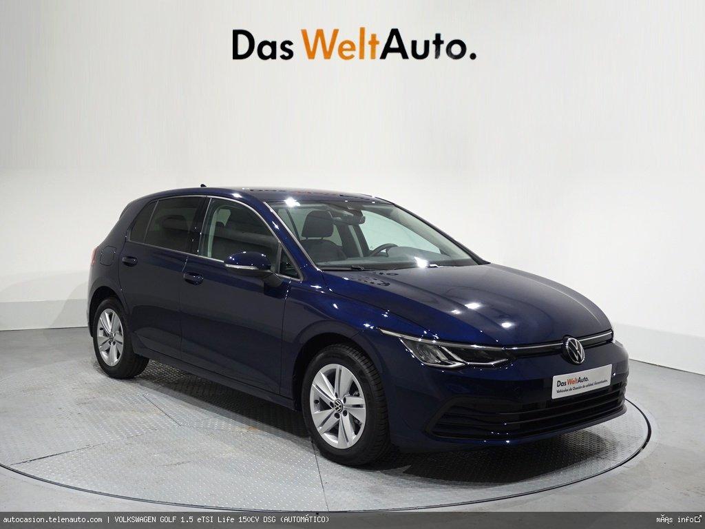 Volkswagen Golf 1.5 eTSI Life 150CV DSG (AUTOMÁTICO) Gasolina kilometro 0 de segunda mano 1