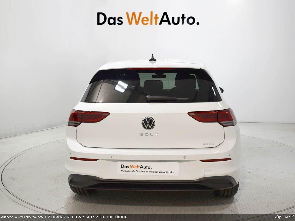 Volkswagen Golf 1.5 eTSI Life DSG (AUTOMÁTICO) Hibrido kilometro 0 de segunda mano 5
