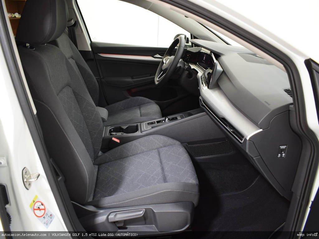 Volkswagen Golf 1.5 eTSI Life DSG (AUTOMÁTICO) Hibrido kilometro 0 de segunda mano 6
