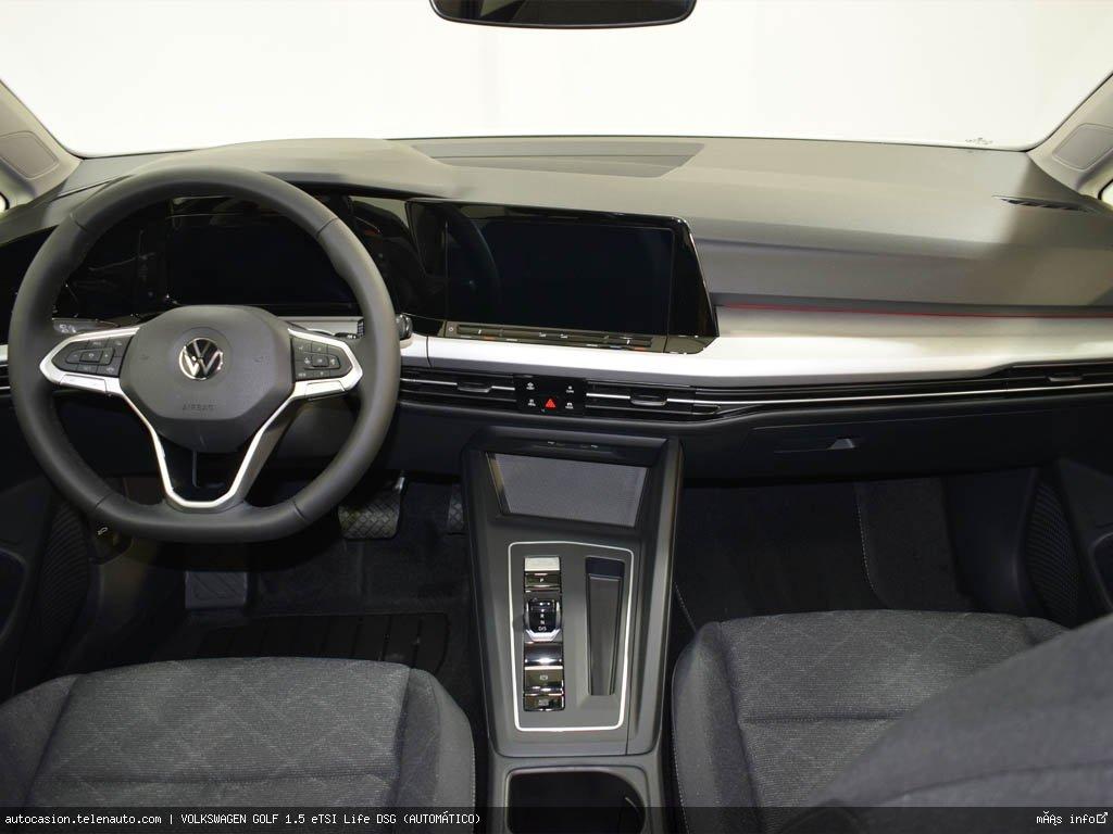 Volkswagen Golf 1.5 eTSI Life DSG (AUTOMÁTICO) Hibrido kilometro 0 de segunda mano 7