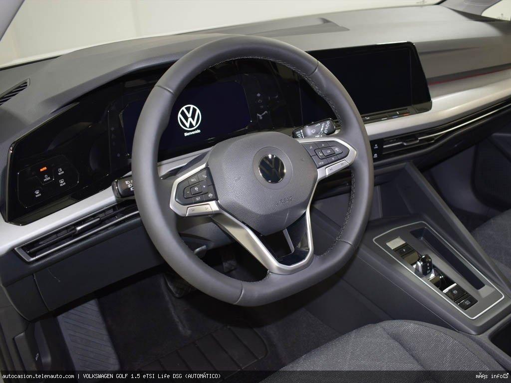 Volkswagen Golf 1.5 eTSI Life DSG (AUTOMÁTICO) Hibrido kilometro 0 de segunda mano 8