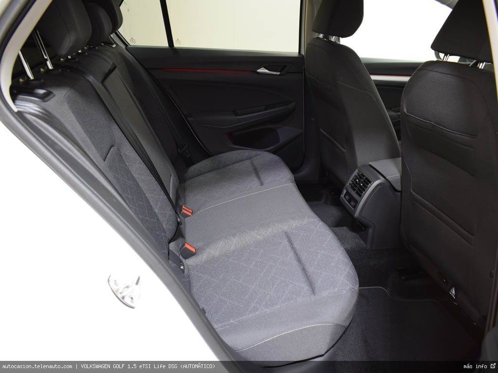 Volkswagen Golf 1.5 eTSI Life DSG (AUTOMÁTICO) Hibrido kilometro 0 de segunda mano 10