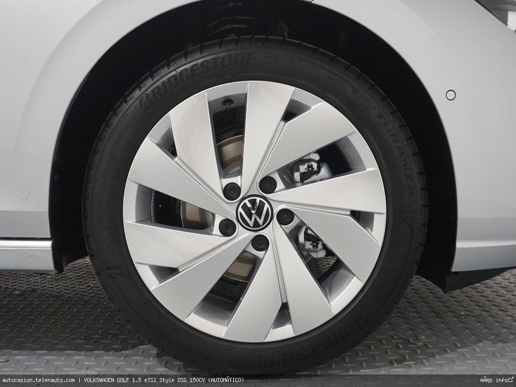 Volkswagen Golf 1.5 eTSI Style DSG 150CV (AUTOMÁTICO) Hibrido kilometro 0 de segunda mano 10