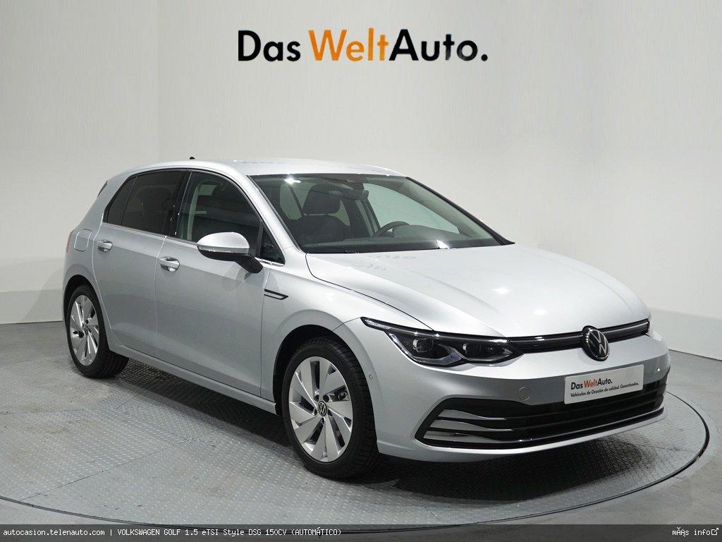 Volkswagen Golf 1.5 eTSI Style DSG 150CV (AUTOMÁTICO) Hibrido kilometro 0 de segunda mano 1