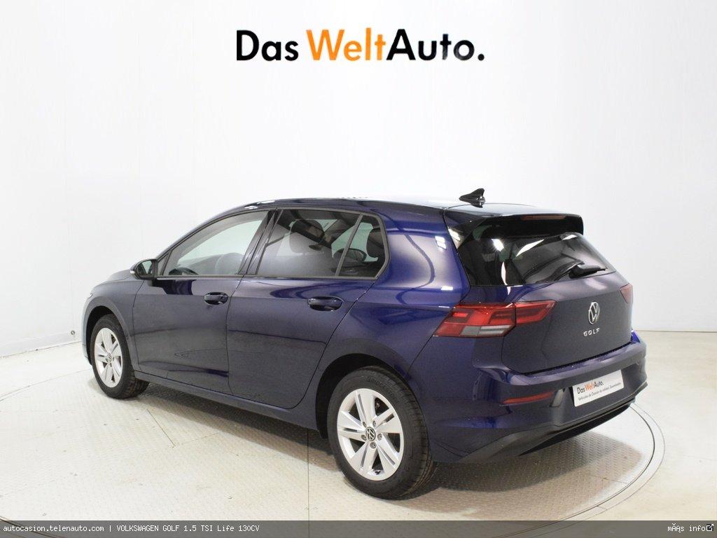 Volkswagen Golf 1.5 TSI Life 130CV Gasolina kilometro 0 de segunda mano 4