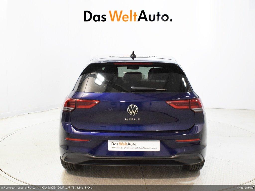 Volkswagen Golf 1.5 TSI Life 130CV Gasolina kilometro 0 de segunda mano 5